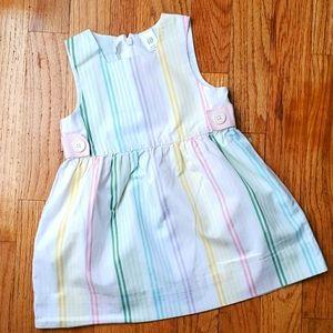 Baby Gap Striped Dress Jumper Sundress